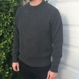 JCrew wool crew neck sweater